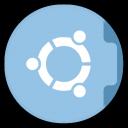 128x128px size png icon of Folder Ubuntu