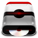 128x128px size png icon of Device CD Rom