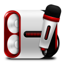 128x128px size png icon of Device Sound Audio
