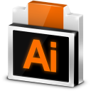 128x128px size png icon of File Adobe Illustrator