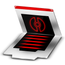 128x128px size png icon of Folder Document