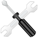 128x128px size png icon of config