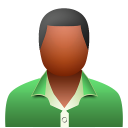 128x128px size png icon of male