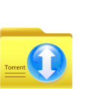 128x128px size png icon of torrent folder