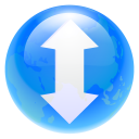 128x128px size png icon of torrent