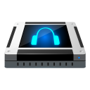 128x128px size png icon of dev audio cd