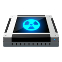 128x128px size png icon of dev cdrom