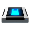 128x128px size png icon of dev floppy big