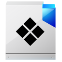 128x128px size png icon of document default