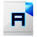 128x128px size png icon of document richtext