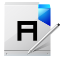 128x128px size png icon of document write