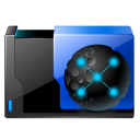 128x128px size png icon of folder activex cache