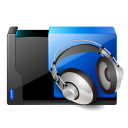 128x128px size png icon of folder music