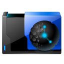 128x128px size png icon of folder url history