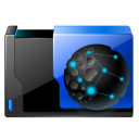 128x128px size png icon of folder web