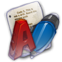 128x128px size png icon of App Office Word Proccesser