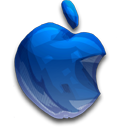 128x128px size png icon of Apple