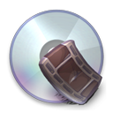 128x128px size png icon of Device Movie Cd