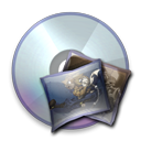 128x128px size png icon of Device Picture Cd