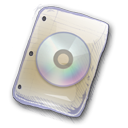 128x128px size png icon of Filetype Cd