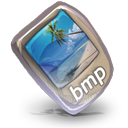 128x128px size png icon of Filetype bmp