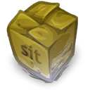 128x128px size png icon of Filetype sit
