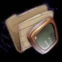 128x128px size png icon of Folder Desktop Folder