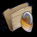 128x128px size png icon of Folder Locked Folder