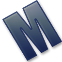128x128px size png icon of Letter M