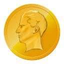128x128px size png icon of Coin