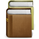 128x128px size png icon of books