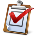 128x128px size png icon of Task Report Hot