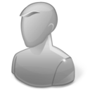 128x128px size png icon of User Anonymous Disabled