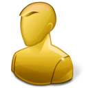 128x128px size png icon of User Anonymous Hot
