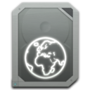 128x128px size png icon of drive idisk offline