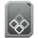 128x128px size png icon of drive internal windows