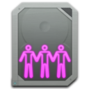 128x128px size png icon of drive sharepoint online