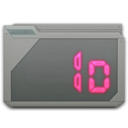 128x128px size png icon of folder adobe indesign