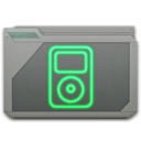 128x128px size png icon of folder ipod