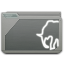 128x128px size png icon of folder mamp