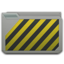 128x128px size png icon of folder wip