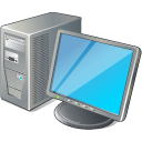 128x128px size png icon of 1 Normal Computer