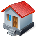 128x128px size png icon of 1 Normal Home