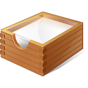 128x128px size png icon of 1 Normal Paper Box
