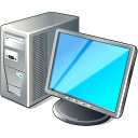 128x128px size png icon of 2 Hot Computer