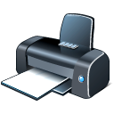 128x128px size png icon of 2 Hot Printer