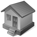 128x128px size png icon of 4 Disabled Home