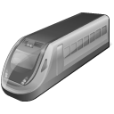 128x128px size png icon of 4 Disabled Train