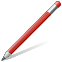 128x128px size png icon of edit