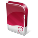 128x128px size png icon of Debian box
